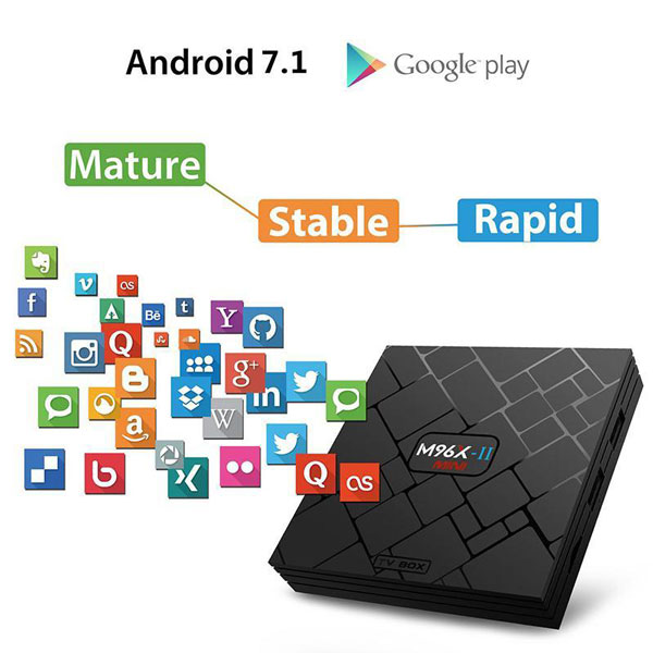 M96X II Android TV Box приставка для телевизора