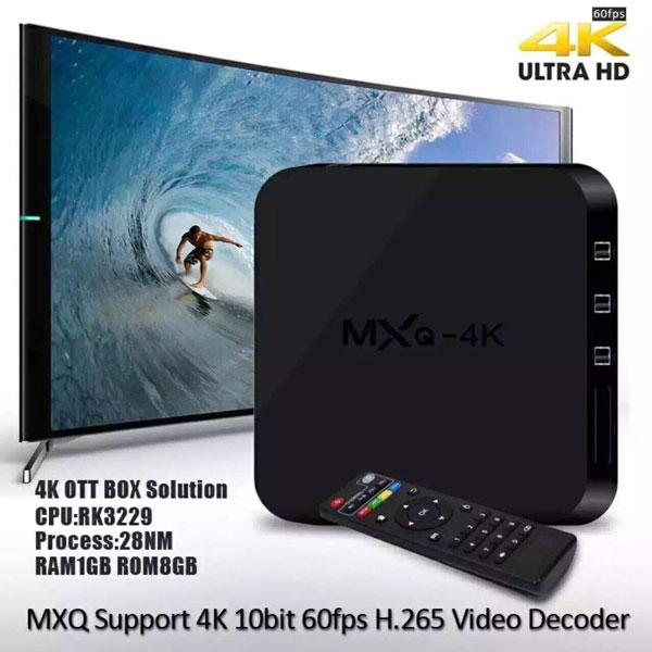 MXQ Android TV Box приставка для телевизора