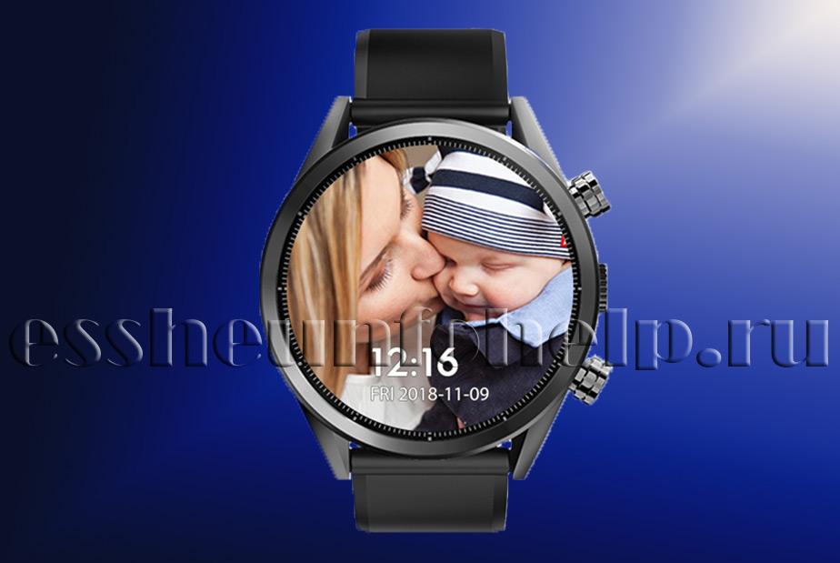Наручные часы телефон GPS Glonass Kospet керамика